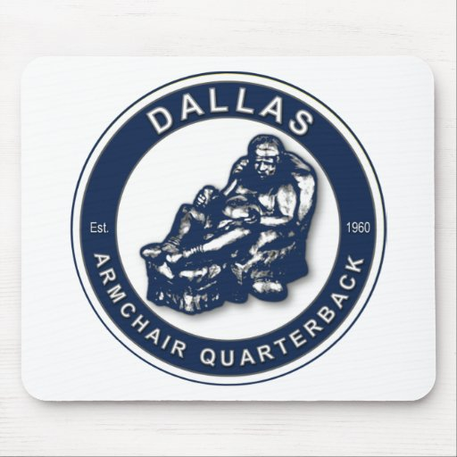 THE ARMCHAIR QB - Dallas Mousepads