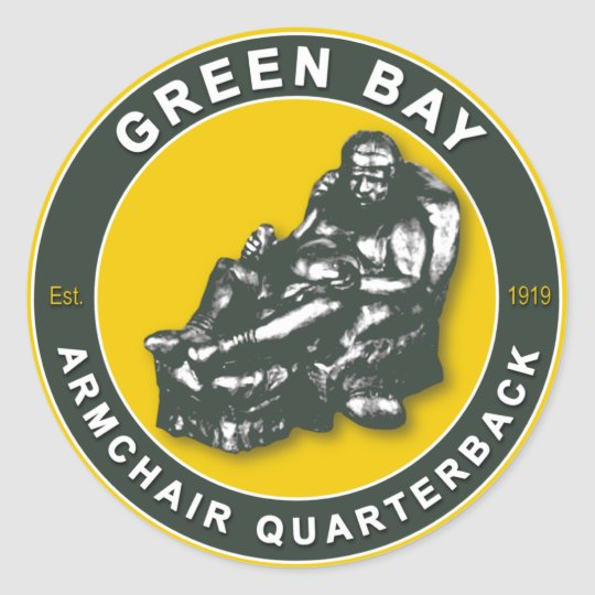The Armchair QB Green Bay Football Stickers