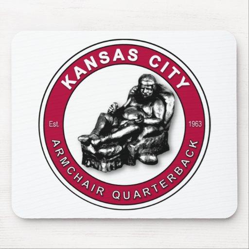 THE ARMCHAIR QB - Kansas City Mousepad