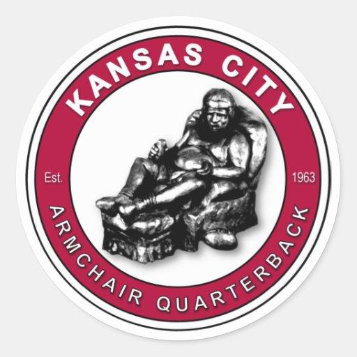 THE ARMCHAIR QB - Kansas City Sticker
