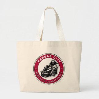 THE ARMCHAIR QB - Kansas City Jumbo Tote Bag