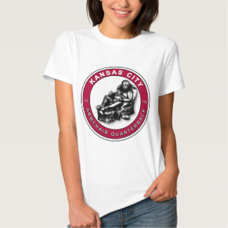 THE ARMCHAIR QB - Kansas City Tshirts