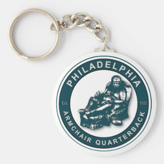 The Armchair QB - Philadelphia Football Keychain
