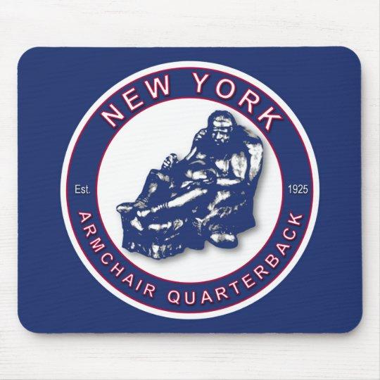 The Armchair Quarterback ~ New York Football Mouse Mat
