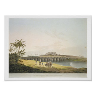 The Armenian Bridge, near St. Thomas's Mount, Madr Posters