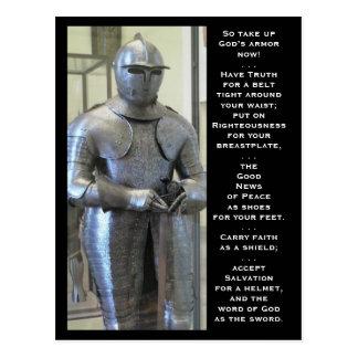 The Armor Of God Postcard