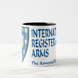 The Armorial Register 325g (11oz) Two-Tone Mug