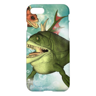 The armour fish with bubbles iPhone 7 case
