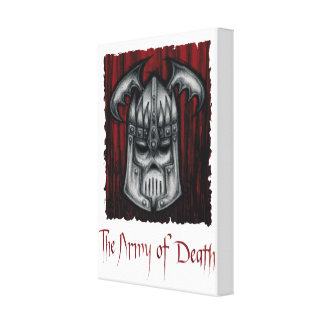 The Army of Death Canvas Print