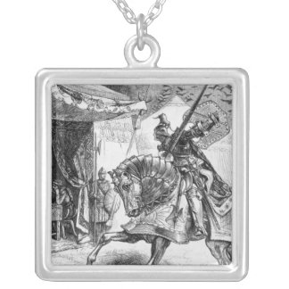 The Army of Ravens Silver Plated Necklace
