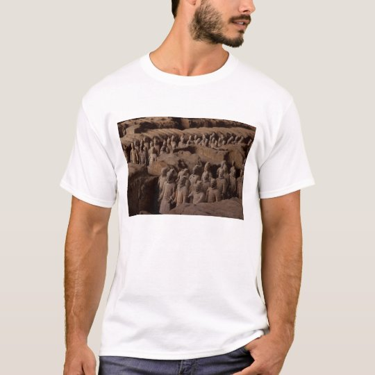 The Army of terra cotta warriors at Emperor Qin T-Shirt