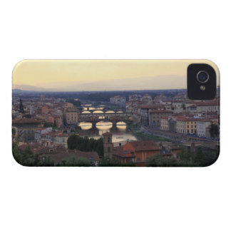 The Arno river and Ponte Vecchio in Florence, iPhone 4 Cover