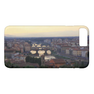 The Arno river and Ponte Vecchio in Florence, iPhone 8 Plus/7 Plus Case