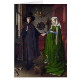 The Arnolfini Marriage (by Jan van Eyck) Card