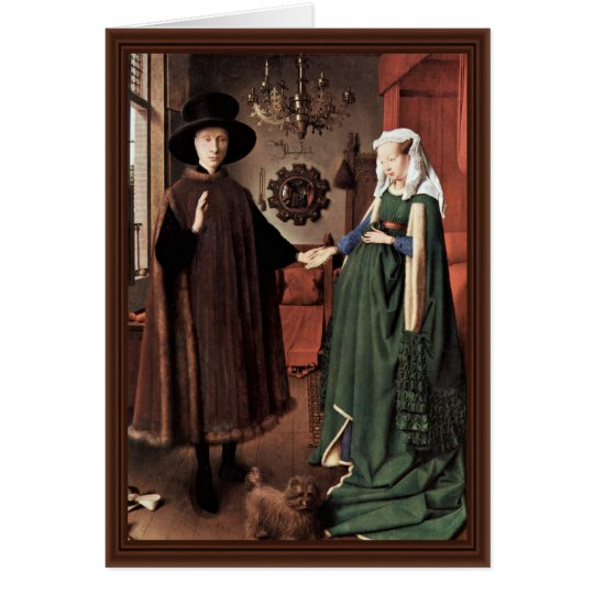 The Arnolfini Portrait The Arnolfini Wedding  By J Card