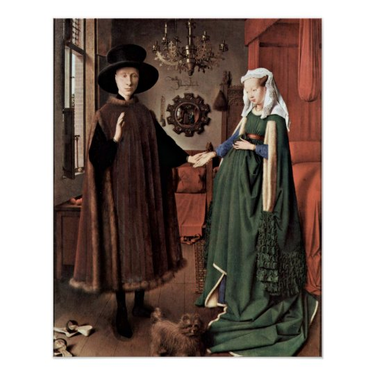 The Arnolfini Wedding by Jan van Eyck Poster