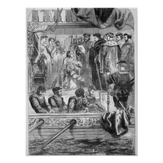 The Arrest of Anne Boleyn Poster