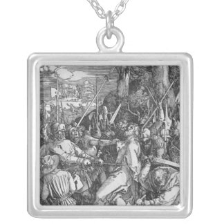 The Arrest of Jesus Christ, 1510 Silver Plated Necklace