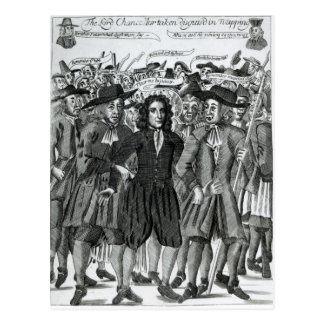 The Arrest of Judge Jeffreys  1689 Postcard