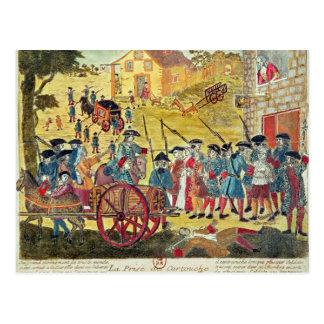 The Arrest of Louis Dominique Cartouche Postcard
