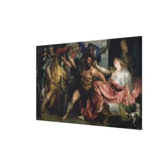 The Arrest of Samson, c.1628/30 Canvas Print