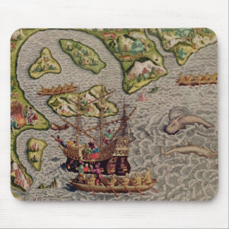The Arrival and Disembarkation Mouse Mat