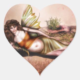 The Arrival Heart Sticker