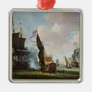 The Arrival Michiel Adriaanszoon Ruyter Christmas Tree Ornaments