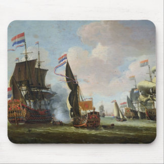 The Arrival Michiel Adriaanszoon Ruyter Mouse Pad