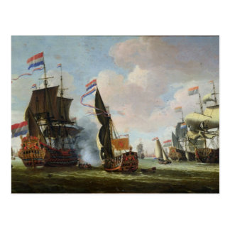 The Arrival Michiel Adriaanszoon Ruyter Postcard