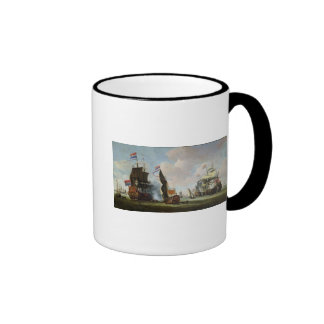 The Arrival Michiel Adriaanszoon Ruyter Ringer Mug