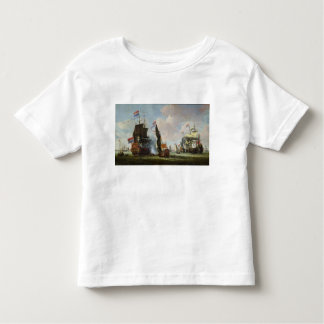 The Arrival Michiel Adriaanszoon Ruyter Toddler T-Shirt