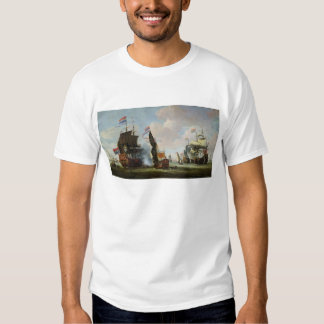 The Arrival Michiel Adriaanszoon Ruyter Tshirt