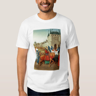 The Arrival of Charles V  in Paris Tee Shirts