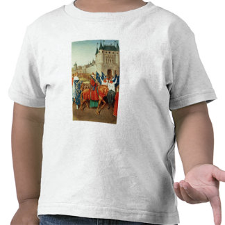 The Arrival of Charles V  in Paris Tshirts
