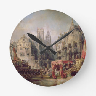 The Arrival of Fernando Alvarez de Toledo, Duke of Wallclocks