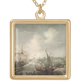 The Arrival of Fredrick V at Vlissingen in 1613 (o Gold Plated Necklace