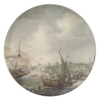 The Arrival of Fredrick V at Vlissingen in 1613 (o Plate