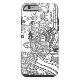 The Arrival of His Majesty Charles (1600-49) Princ Tough iPhone 6 Case