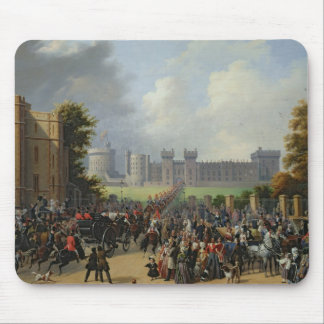 The Arrival of Louis-Philippe  at Windsor Mouse Mat
