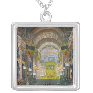 The Arrival of Napoleon's Ashes Silver Plated Necklace