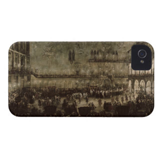 The Arrival of Princess Amelia of Saxony, in a Car iPhone 4 Case