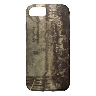 The Arrival of Princess Amelia of Saxony, in a Car iPhone 8/7 Case