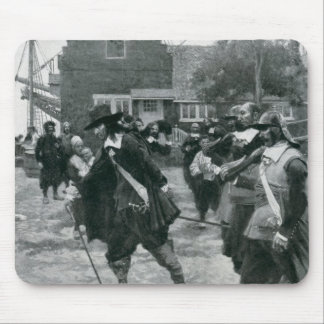 The Arrival of Stuyvesant in New Amsterdam Mouse Mat