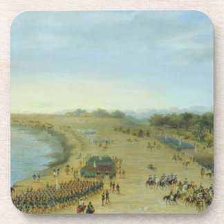 The Arrival of the Allied Army at Itapiru, Paragua Beverage Coasters