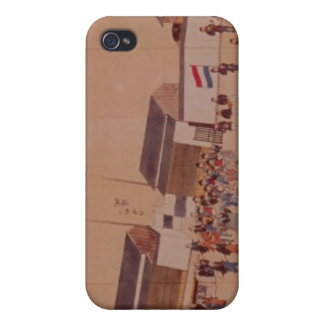 The Arrival of the Dutch in Japan,, 18th century Cover For iPhone 4