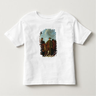The Arrival of the Nobleman (oil on canvas) Toddler T-Shirt