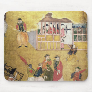 The Arrival of the Portuguese in Japan 2 Mouse Mat