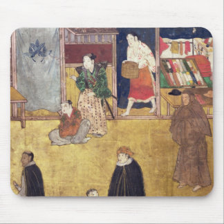 The Arrival of the Portuguese in Japan 3 Mouse Mat