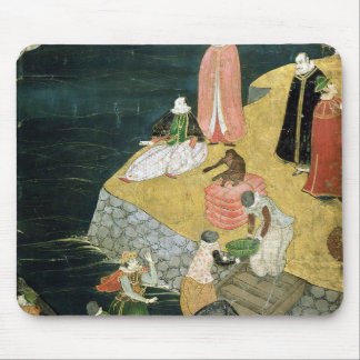The Arrival of the Portuguese in Japan Mouse Mat